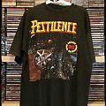 Pestilence - TShirt or Longsleeve - Pestilence Spheres tour 93