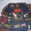 Black/death metal battlejacket