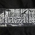Burzum - Logo/Hvis lyset tar oss Patch