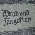 Dead And Forgotten - Patch - Dead and Forgotten - Logo Patch