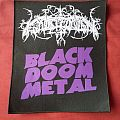 Patch - Faustcoven - Black Doom Metal backpatch