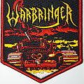 Warbringer - Patch - Warbringer - War Without End embroidered patch