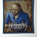 Nachtmystium - Patch - Nachtmystium - Resilient blue border patch
