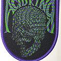 Acid King - Patch - Acid King purple border patch