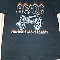 AC/DC For those about to rock t-shirt