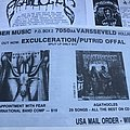 """Agathocles - Other Collectable - Agathocles """"Theatric Symoblisation Of Life"""" Promotion, Health Crew Fanzine"""