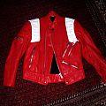 Enforcer - Battle Jacket - Red Leatherjacket