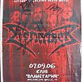 Dismember - Other Collectable - Dismember autographed poster