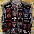 Slayer - Battle Jacket - Kutte - Toxic Holocaust backpatch (FINISHED!!!)