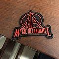 Metal allegiance patch