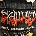 Exhumed gore metal patch