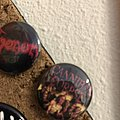 Tiny Venom and cannibal corpse pins Pin / Badge
