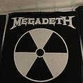Megadeth screenprint patch