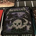 Metallica creeping death deformed patch