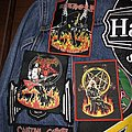 Circle of flames patches