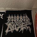 Morbid angel screenprint Patch