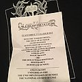 Gloryhammer setlist (galactic terror vortex North America tour) Other Collectable