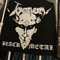 Venom black metal screenprintn Patch