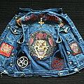 Slayer Battle Vest - Battle Jacket - Slayer Denim Cut-Off Patch Waistcoat Battle Jacket Vest embroider
