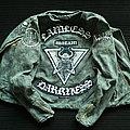 Watain - Battle Jacket - Watain Denim Jean jacket rocker biker Battle Jacket