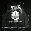 Szron - Battle Jacket - Szron Death Camp Earth leather vest hand painted