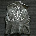 Watain - Battle Jacket - Watain leather vest hand painted