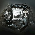 Hellhammer hand painted leather jacket