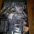 Other Collectable - Iced Earth - Dystopia tour poster (Signed)
