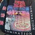 Morbid Angel Domination long sleeve 1995 TShirt or Longsleeve