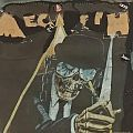 Megadeth clockwork orange style back patch.