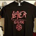 Slayer 6/6/06 TS TShirt or Longsleeve