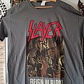 Slayer Reign in Blood Classic TS TShirt or Longsleeve