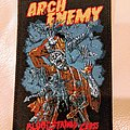 Arch Enemy Bloodstained Cross Patch