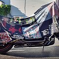 Celtic Frost - Other Collectable - Motorcycle T-Shirt Collage Quilt/Cover for Harley-Davidson V-Rod