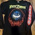 White Zombie Long Sleeve shirt Ancient print