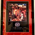 Dream Theater - Images and Words 25th Anniversary concert poster (custom framed)