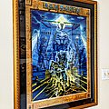 Iron Maiden - Somewhere Back in Time World Tour 2008 poster (framed)