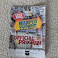 Vans Warped Tour 2019 official program