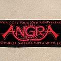 Angra - Angels Cry 20th Anniversary Loud Park 2013 (Saitama Super Arena) black/red towel