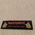 Iron Maiden -World Slavery Tour patch