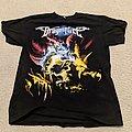 DragonForce - Ultra Beatdown 2008 tour shirt (North America)