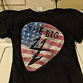 The Big 4 - NYC Yankee Stadium (Bronx) 2011 guitar pick event shirt