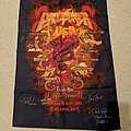 ProgPower USA XV 2014 poster flag (signed)