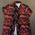Metallica - TShirt or Longsleeve - Metallica - Skull Sunset Hawaiian shirt