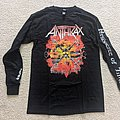 Anthrax - TShirt or Longsleeve - Anthrax - Persistence of Time long sleeve shirt