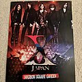 X Japan - Other Collectable - X Japan - Madison Square Garden mini poster