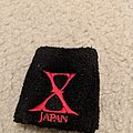 X Japan - Other Collectable - X Japan red/black sweatband