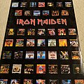 Iron Maiden - discography poster (as of 2003) Other Collectable