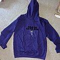 Black Sabbath - Hooded Top - Black Sabbath - 50th Anniversary purple hoodie