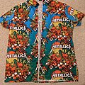 Metallica - TShirt or Longsleeve - Metallica - Sunset Skulls Hawaiian shirt